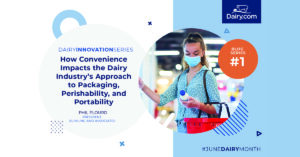 How Convenience Impacts the Dairy Industry's Approach to Packaging, Perishability, and Portability
